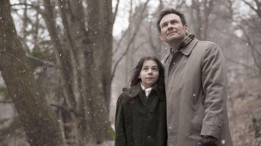 Joe împreună cu tatăl ei